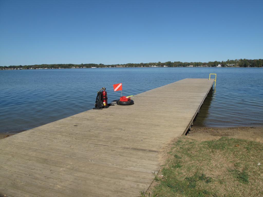 Paw Paw Lake - Public Pier - Watervliet Side