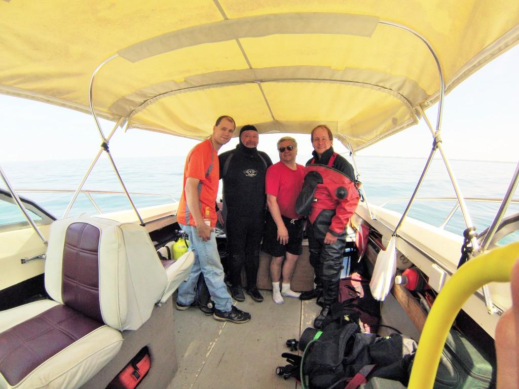 Great Day of Diving -  Lake Michigan