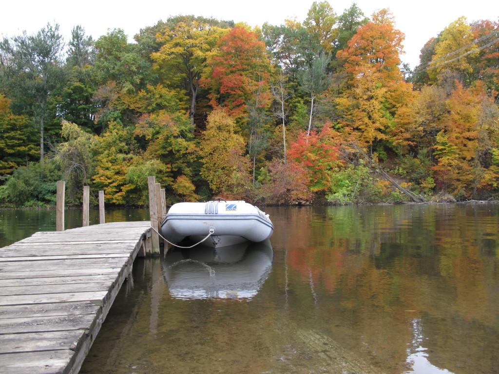 Autumn River Diving in Michigan - Saint Joseph River ...