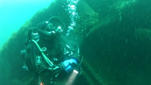Diving the Cedarville Sept 7