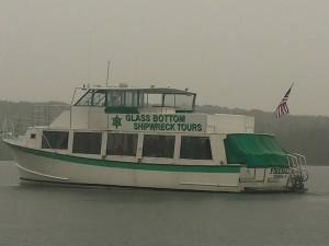 Glass Bottom Boat Shipwreck Tours