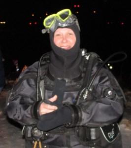 Mary Beth Thar - 2016 President of the Michigan U/W Divers Club