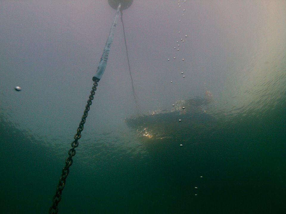 Kevin Ailes photo of the Ironsides buoy pict