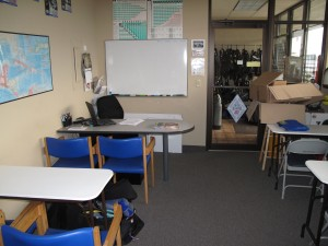 Moby's classroom